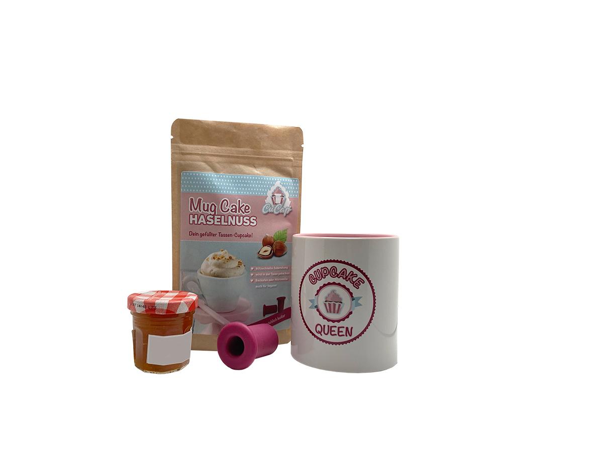 CUCAP® Tassen-Cupcake Geschenkset