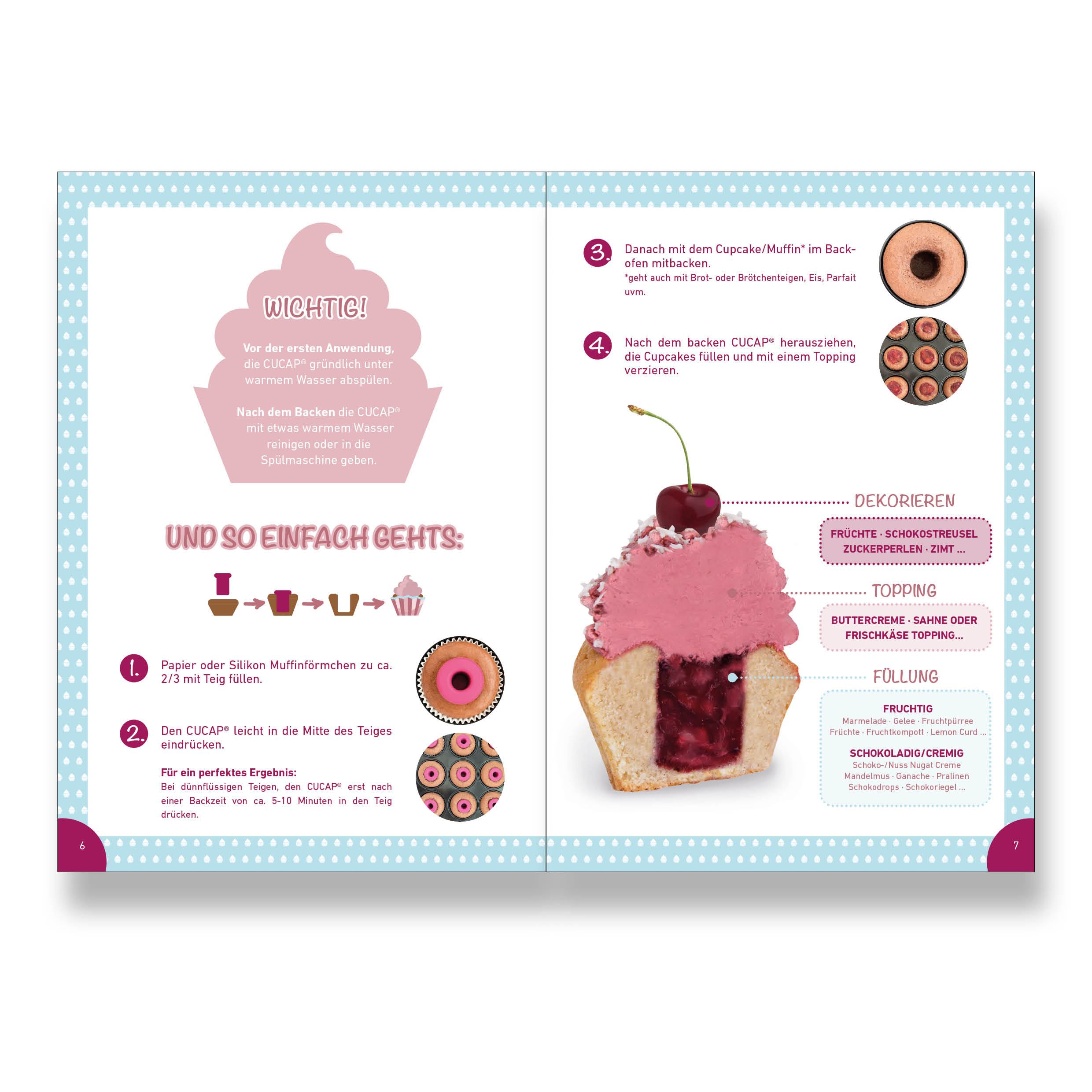 "Basic Backbuch ""Cupcakes, Muffins & Mehr"""