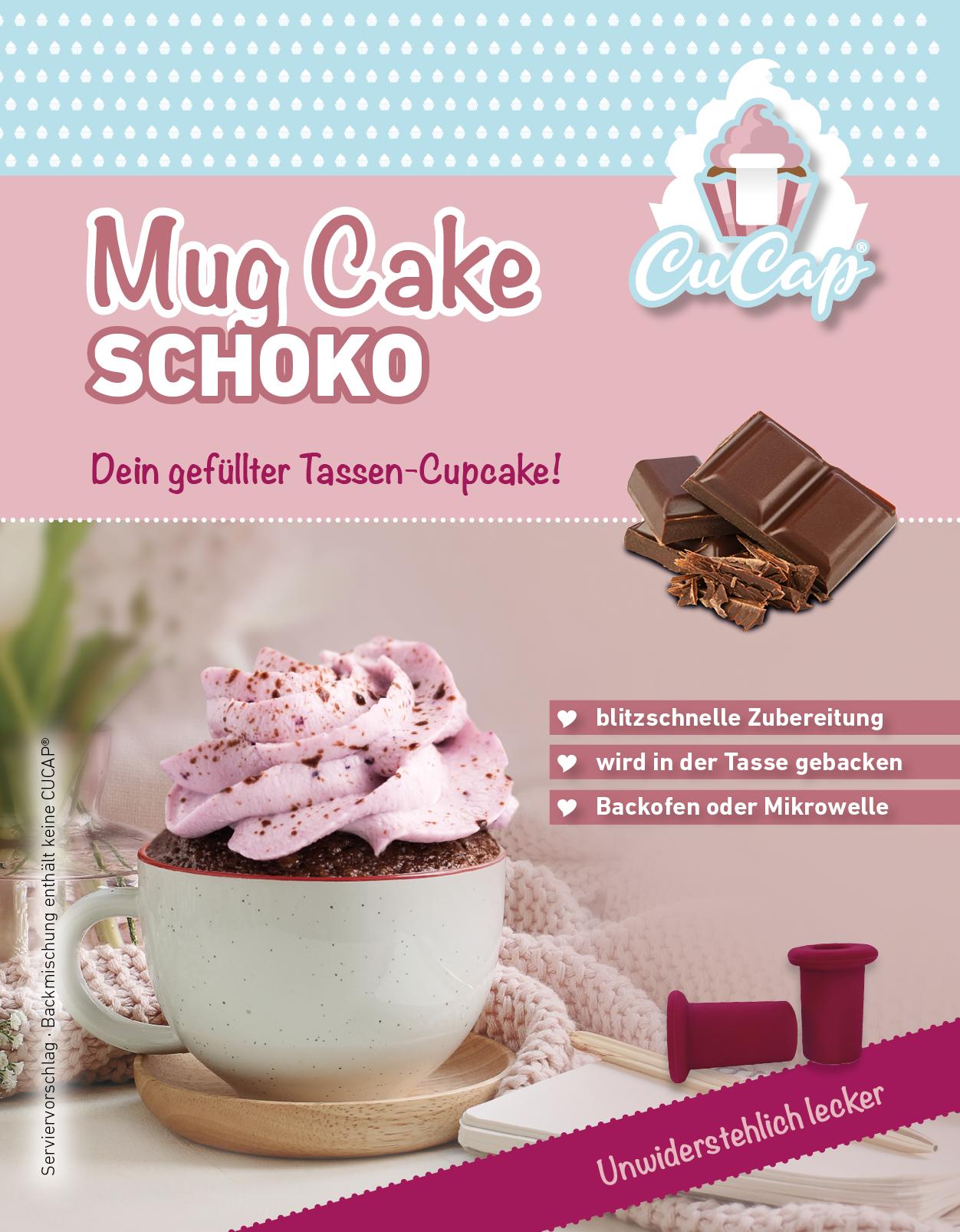 MugCake (Tassen-Cupcake) Schoko