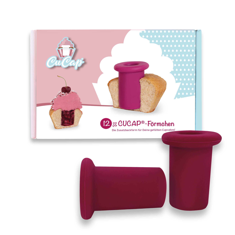 CUCAP® Zusatzbackförmchen – 12er Set